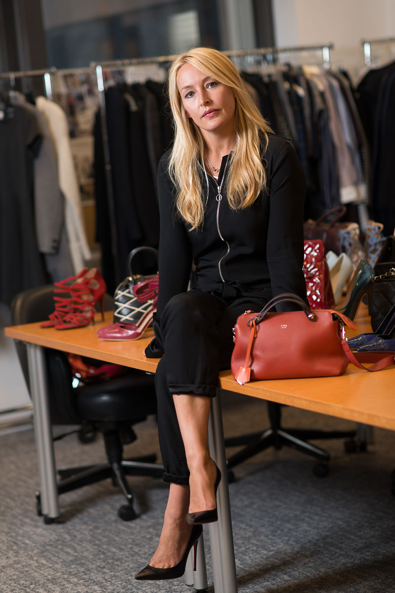 Fendi By the Way Bag $1,400 via Bergdorfs, Zara Jumpsuit, Christian Louboutin Pigalles Follies $675 via Saks