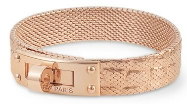 The $38,400 Hermes Kelly Rose Gold Bracelet