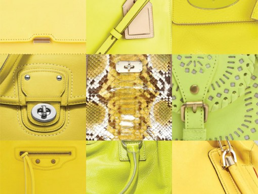 Add some sunshine to your life with the season's best yellow bags
