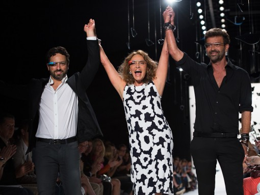 Diane von Furstenberg and Google team up to debut Glass at Fashion Week
