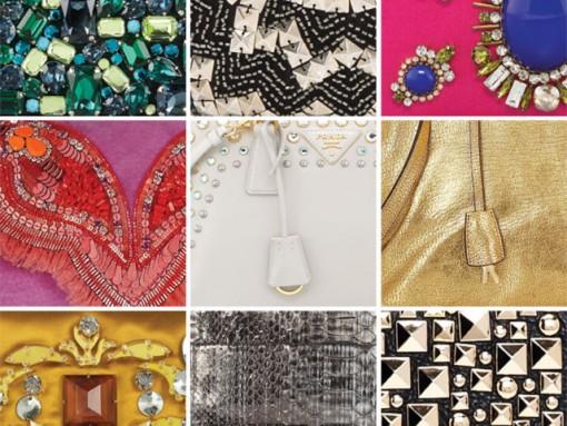 'Tis the season to add some shine to your handbag collection