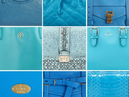 December Birthday Gift Guide: Blue Topaz Handbags