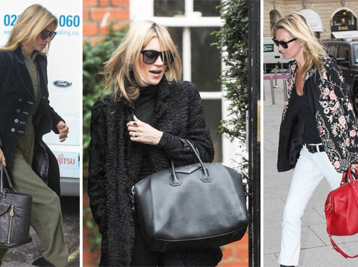 The Many Bags of Kate Moss