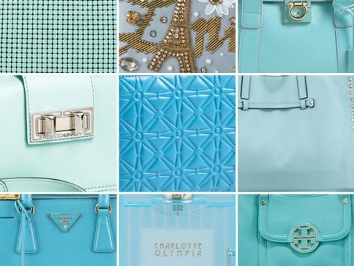 March Birthday Gift Guide 2013: Aquamarine Handbags