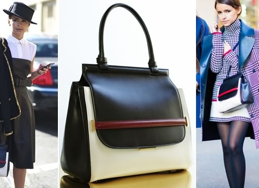 Just can't get enough: Mira Duma and her The Row Top Handle Bag