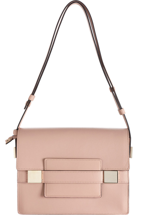 Delvaux Madame PM Shoulder Bag Blush