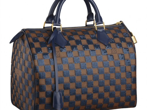Louis Vuitton Introduces Subtly Sequined Speedy Bags for Pre-Fall 2013