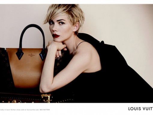 Louis Vuitton Taps Michelle Williams For Its Latest Ad Campaign