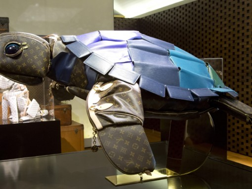 The Louis Vuitton Traveling Curiosities Collection Gets a New Member – a Turtle!