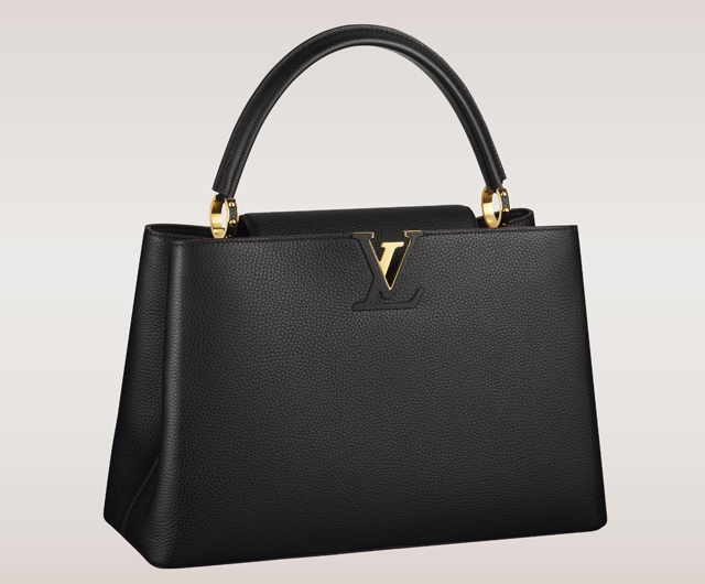 Louis Vuitton Capucines Bag Black
