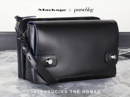 Introducing the Mackage x PurseBlog Nomad Bag