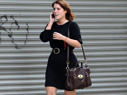 Princess Eugenie Sets Down Roots in NYC with a Mulberry Bag
