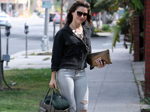 Sophia Bush Goes High-Low With 3.1 Phillip Lim for Target and Lanvin Bags