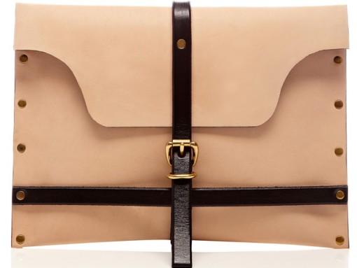 Newcomer Dillon Des Pres Designs Exclusive iPad Clutch for Moda Operandi