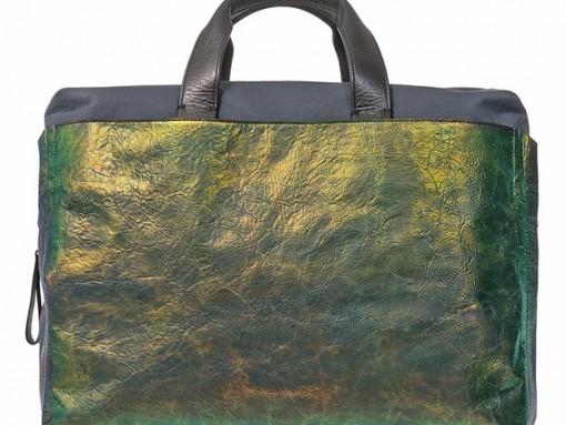 Man Bag Monday: Lanvin Iridescent Commuter Bag