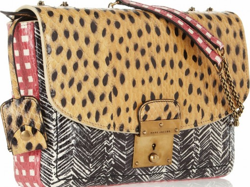 Marc Jacobs Went A Little Clash-Happy With This Shoulder Bag