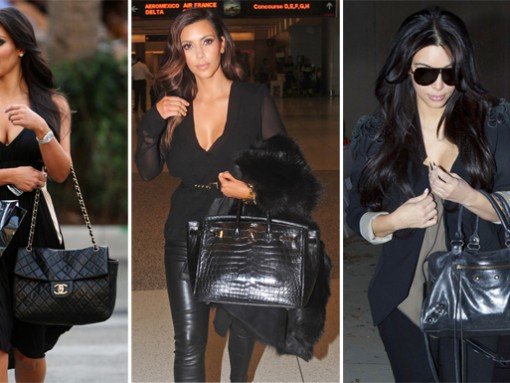 The Many (Many) Bags of Kim Kardashian