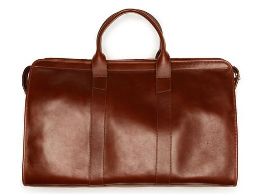 Man Bag Monday: The Lotuff Leather Travel Duffel Bag