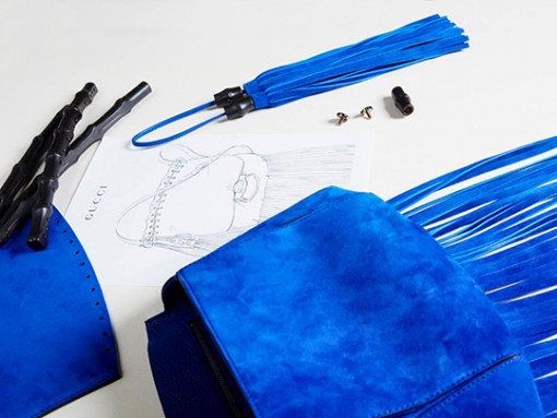 Inside the Making of a Gucci Nouveau Fringe Bag