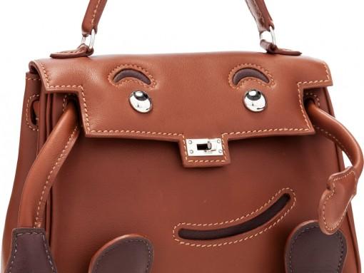 Behold the Rare Hermes Kelly Doll Bag