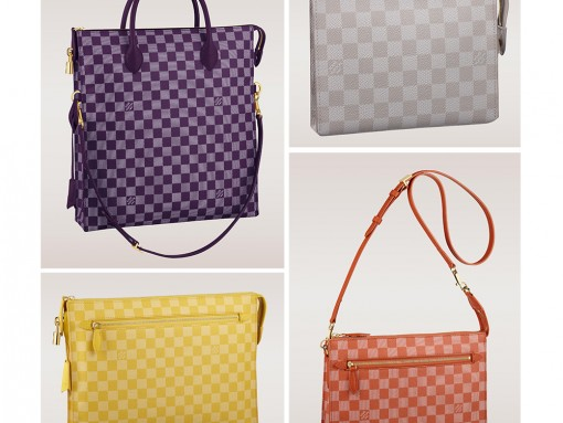 Louis Vuitton Rolls Out New Colorful Prints with Damier Couleurs