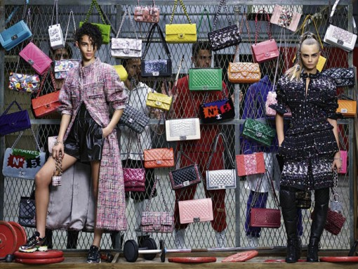 Chanel Unveils Bag-Filled Fall 2014 Ad Campaign