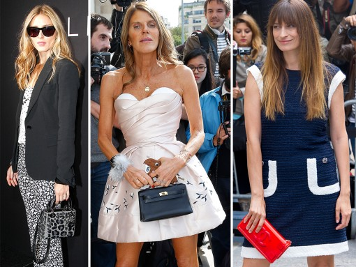 Check Out What Celebs and Insiders Carried to the Paris Couture Week Fall 2014 Shows