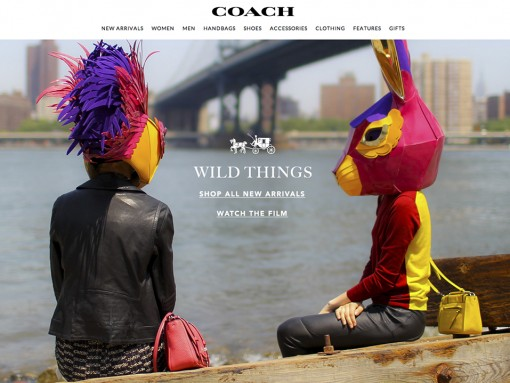 Yes, There are Giant Animal Heads in Coach's New In-Store Campaign