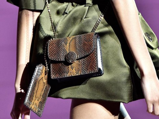 Marc Jacobs Continues His Handbag Push with Military Vibes for Spring 2015
