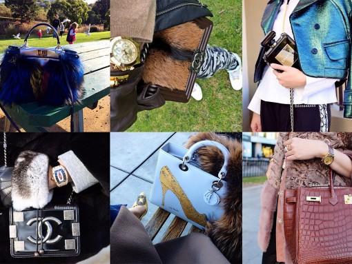 Instagram Handbag Celebrity: @dssaaksss
