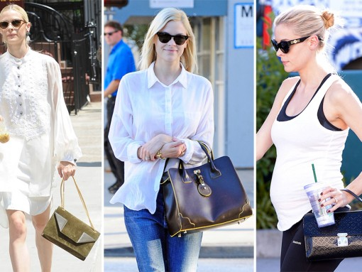 The Many Bags of Jaime King