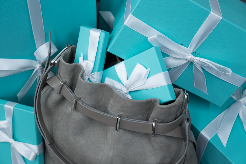 Tiffany Blair Shoulder Bag. $1,950 via Tiffany