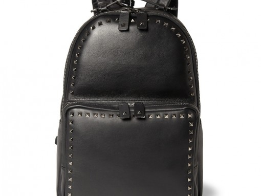 Man Bag Monday: Valentino Studded Leather Backpack