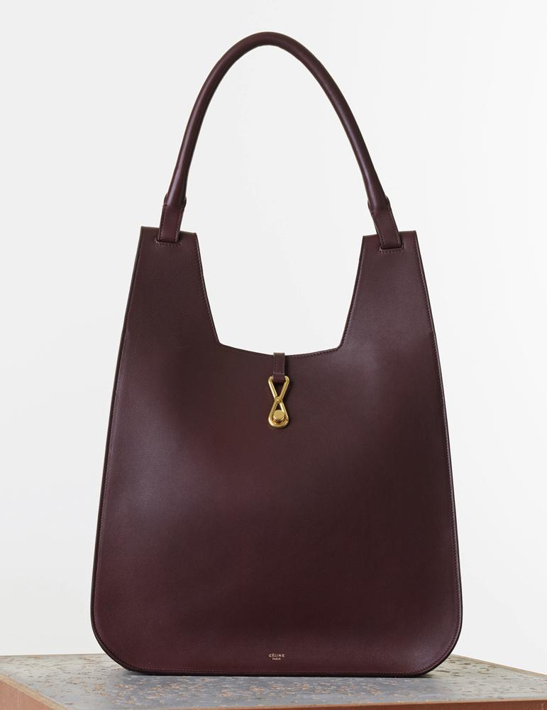 Celine Hobo Hook Handbag Smooth Calf 2700