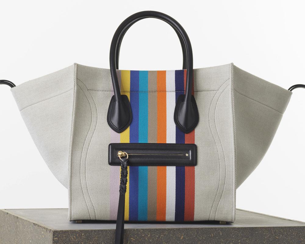 Celine Medium Phantom Luggage Tote Textile 2100