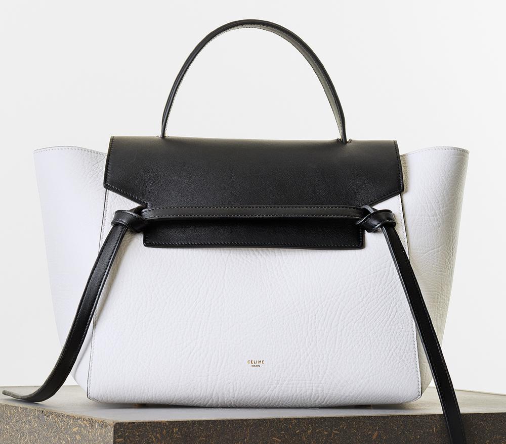 Celine Mini Bicolor Belt Bag 2550