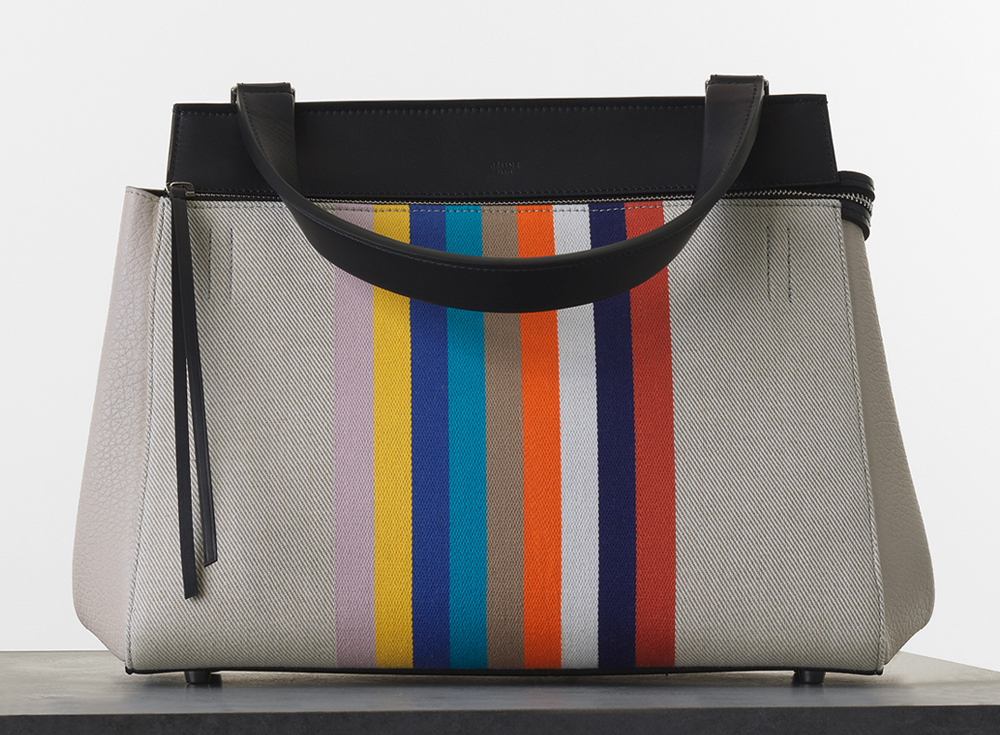 Celine Textile Medium Edge Bag 2100