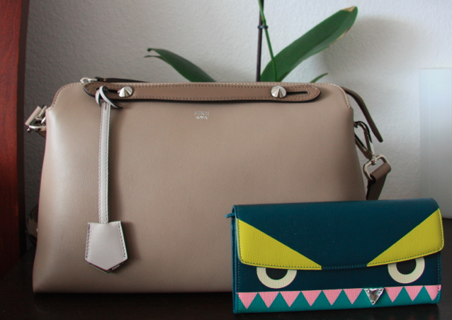 Fendi By The Way Bag and Monster Wallet