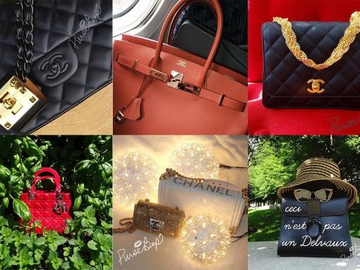 Instagram Handbag Celebrity: @pursebop