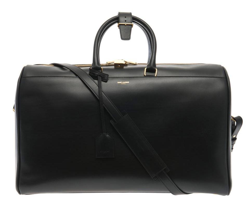 Saint Laurent Classic Duffel 24 Messenger Bag