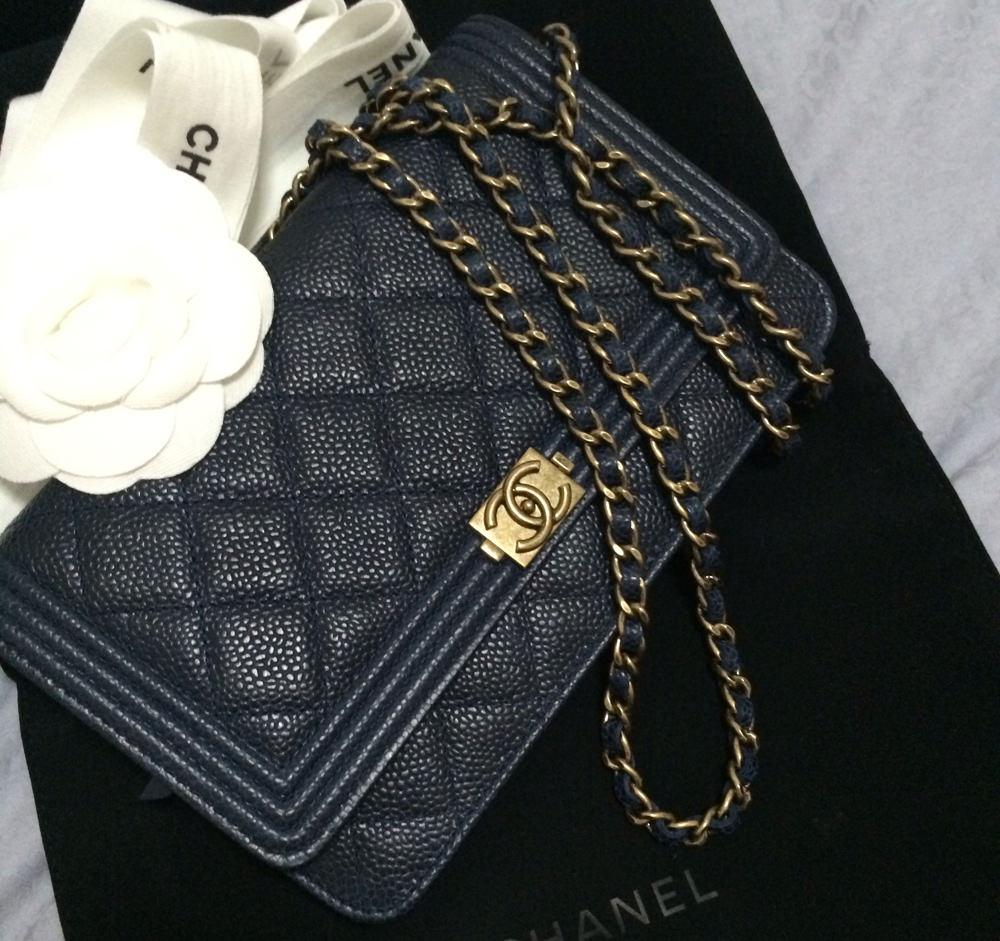 Chanel Boy Wallet on Chain Bag