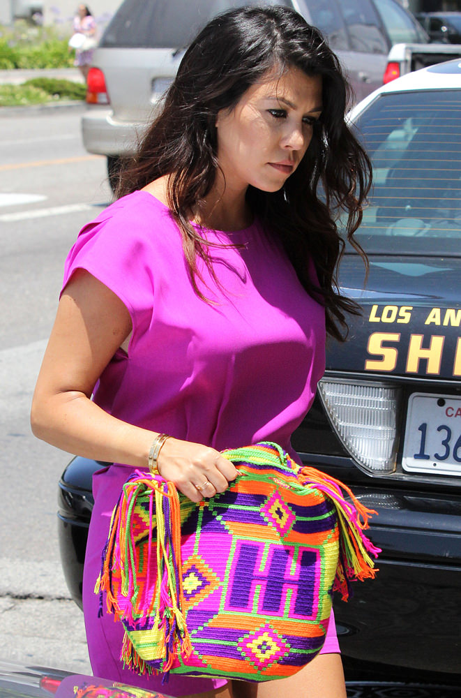 The Kardashians arriving at Dash Store in West Hollywood