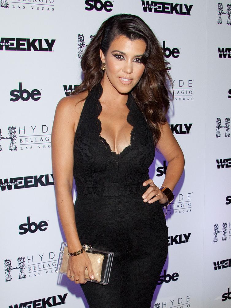 Kourtney Kardashian celebrates Labor Day Weekend at Hyde Nightclub in Las Vegas