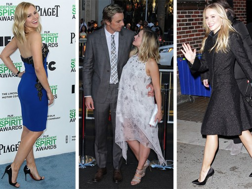 The Many Shoes of Kristen Bell