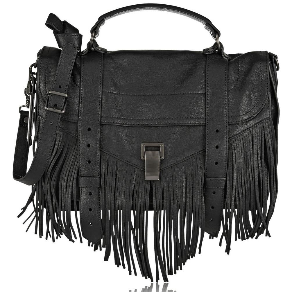 Proenza Schouler PS1 Medium Fringed Bag
