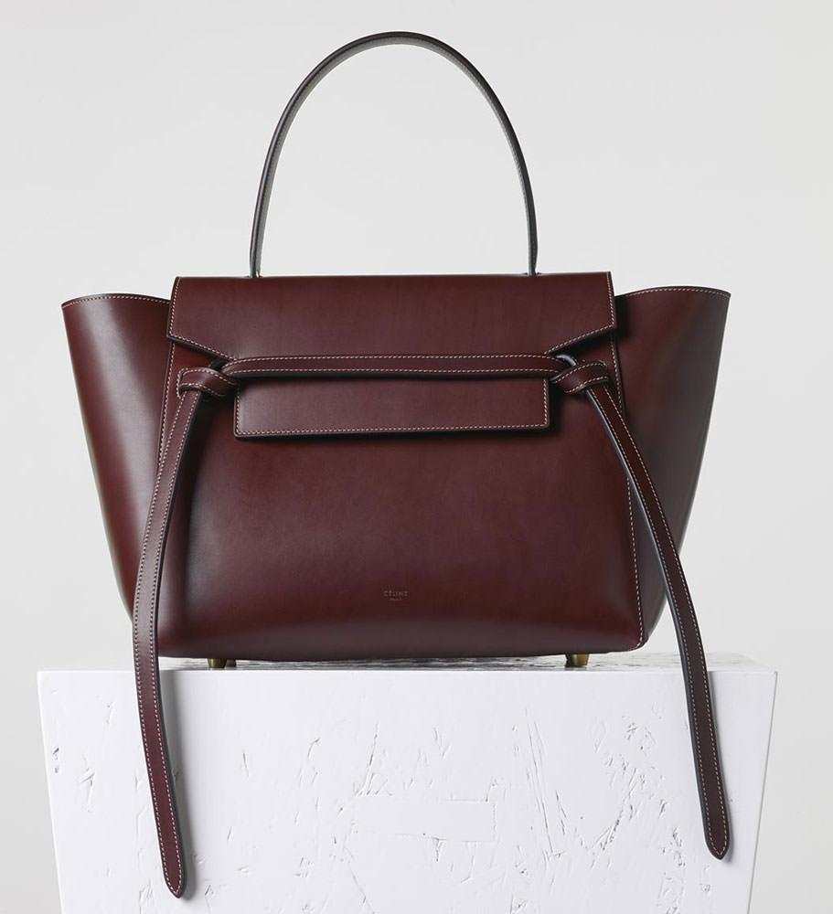 Celine-Small-Belt-Bag-Burgundy