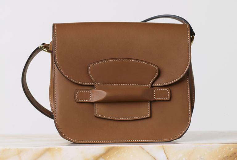 Celine-Small-Tab-Bag-Tan
