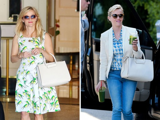 Just Can't Get Enough: Reese Witherspoon and The Row's Leather Satchel