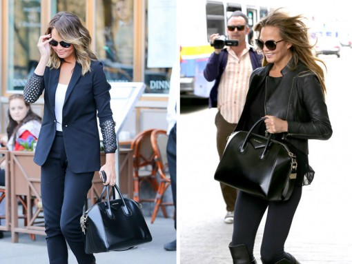Just Can't Get Enough: Chrissy Teigen and Her Givenchy Antigona Bag