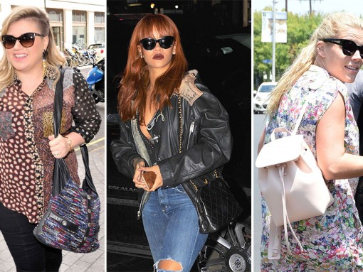 All Your Fave Celebs are In Here, & Their Bags are On-Point